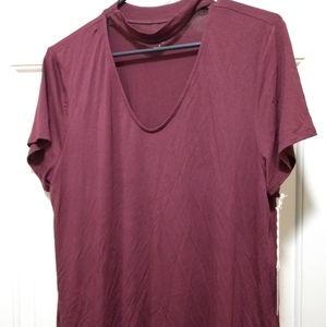 Modern Day Cut-Out T-Shirt